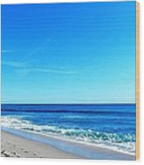Florida Beach Wood Print