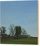Florida Farmlands Wood Print