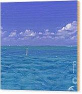 Florida Keys Marathon Intercoastal Waterway 3 Wood Print