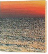 Florida Point Sunrise Wood Print