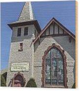 Florida Reform Church Wood Print