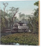 Florida Steamboat, C1902 Wood Print