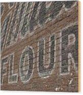 Flour Wood Print