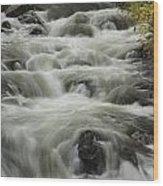 Waterflow Wood Print