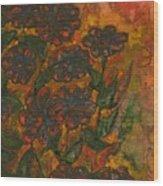 Flower 11 Wood Print