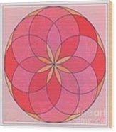 Flower 126 Wood Print