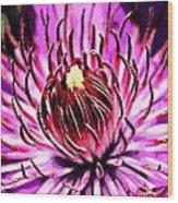 Flower 22 Wood Print