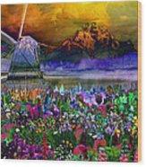Flower Bliss Wood Print
