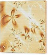 Flower Breeze Wood Print