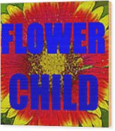 Flower Child Phone Case Work Wood Print