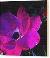 Flower Continuum  Wood Print