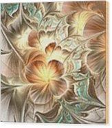 Flower Daze Wood Print
