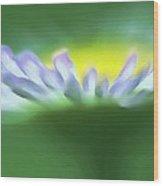 Flower Effect Wood Print