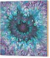 Flower Fantasy 3 Wood Print