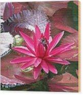 Flower Garden 66 Wood Print