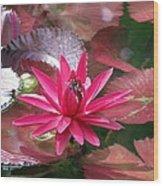 Flower Garden 67 Wood Print