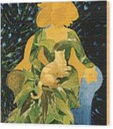 Flower Lovers Wood Print