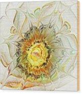 Flower Palette Wood Print