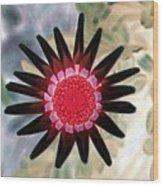 Flower Power 1429 Wood Print