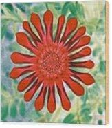 Flower Power 1438 Wood Print