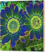 Flower Power 1446 Wood Print