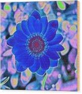 Flower Power 1452 Wood Print
