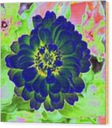 Flower Power 1460 Wood Print