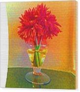 Flower Study #1 Wood Print