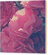 Flowering Blossoms Wood Print