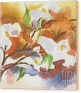 Flowering Dogwood IIi Wood Print by Kip DeVore