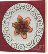 Flowering Fruits Wood Print