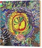 Flowering Shiva Wood Print by Jason Saunders