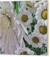 Flowering Together Wood Print