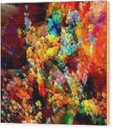 Flowers 0525 Marucii Wood Print