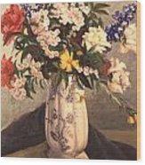 Floral 2 Wood Print