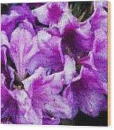 Flowers 2078 Lux Wood Print
