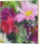 Flowers -3  Wood Print