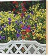 Flowers 53 Wood Print