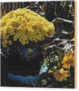 Flowers 537 Wood Print
