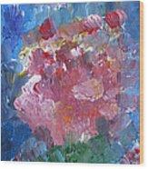 Flowers Bouquet Wood Print