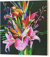 Flowers For You 1 Wood Print