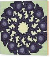 Flowers Of Algebra Wood Print