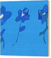 Flowers Of God Wood Print