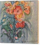 Flowers#1 Wood Print