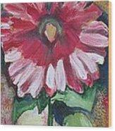 Flowery Days 11 Wood Print