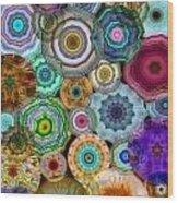 Flowery Meadow 3 Wood Print