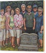 Floyd Family Cousin's Portrait Wood Print