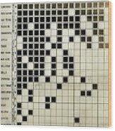 Flu Symptoms Chart Wood Print
