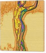 Fluid Wood Print