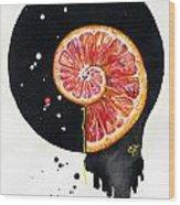 Fluidity 13 - Elena Yakubovich Wood Print